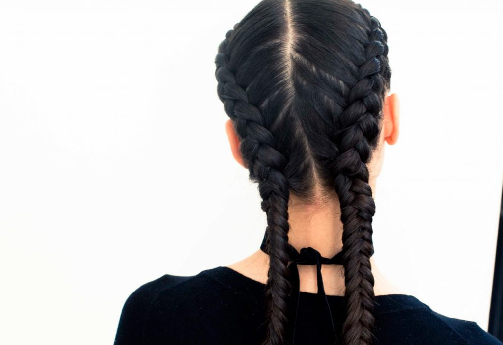 Braided double dutch style