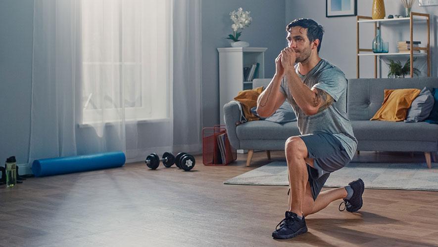 home strength training