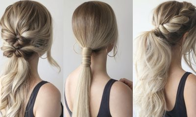 6 ways to make your boring ponytail look cute and fun